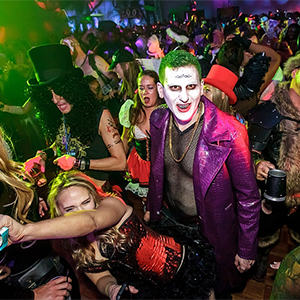 Fetish halloween parties