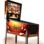 It's a Big Lebowski Pinball Machine