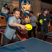Figured You'd Want to Know About This Ping-Pong Party
