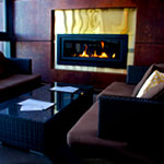 A Rooftop Fireplace at Legal Harborside