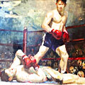 Boxer Oil Paintings at Judy Maxwell