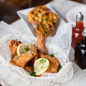 Fried Chicken in a Charming Garden Is Happening