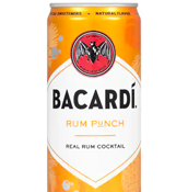 BACARDI'S CANNED RUM PUNCH