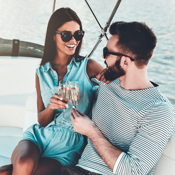 How to Wind Up on a Yacht at the Boat Show