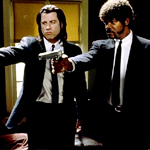 Shooting the Gun from Pulp Fiction