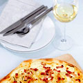 Wine, Cheesy Flatbreads and You