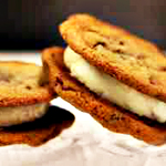 Gelato Ice Cream Sandwiches. Neat.