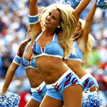 On the Guest List: Titans Cheerleaders