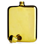 How to Buy a Gold Flask at a Café