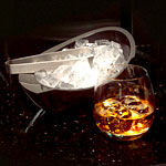 Whiskey with Ice Sculptures