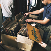 Just Heaps of Vintage Vinyl at the Standard