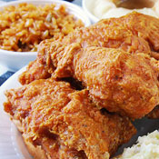 A Fried-Chicken Celebrity Comes to Town