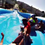 Downtown's Giant Slip 'N Slide: Banned