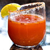 Heirloom Tomato Micheladas. They Have Those.