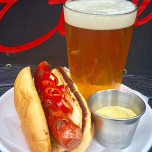 Sausage and Rock Music at Ethyl's
