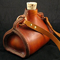 A Leather Flask