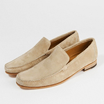 Sand-Colored Loafers. Makes Sense.