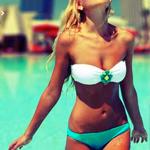 Bikinis. Delivered. Because Vegas.
