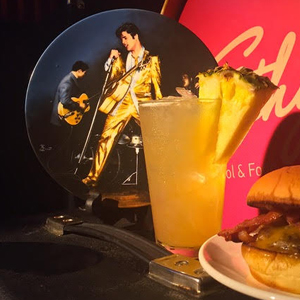 Celebrating Elvis, With Dancing and Burgers