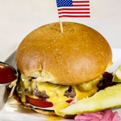 There Are Bacon Burgers Among Us