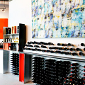 A Wine Shop/Gallery Hybrid Downtown
