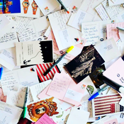 Let's Imbibe and Write Postcards to—Air Quotes—the President
