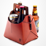 Some Leather Things to Tote Beer With