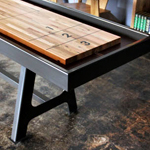 A Ruggedly Handsome Shuffleboard Table