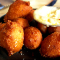Introducing Foie Gras Hush Puppies