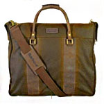 This Suit-Sheltering Barbour Bag