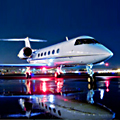 A Private Jet and the Masters