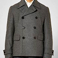 Brooks Brothers Black Fleece Peacoat