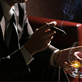 Suits + Cigars + Cocktails = This