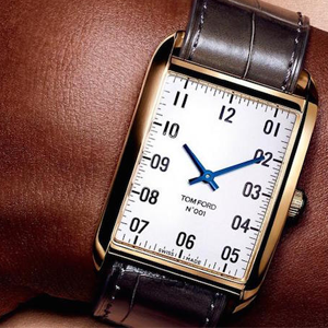 Tom Ford's First Line of Watches Is Just as Handsome as You'd Expect