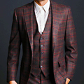 A Handsome Three-Piece Suit