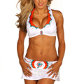 Dolphins Cheerleaders. In Swimsuits.