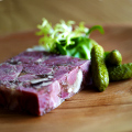 Head Cheese Terrine at DB Bistro