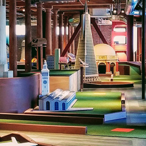 Here, Take Your Date to This New Mini Golf Place