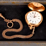 His Gold Pocket Watch from Sally Field