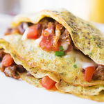 Thin, Meat-Filled Pancakes. So... Crepes.