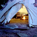 Let's Adjourn to the Tepee