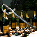 Opening Your Champagne the Hard Way