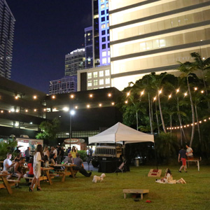 Brickell City Centre's Biergarten Is Back. It's Really Back.