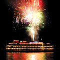 Cruising the Bay, with Fireworks