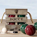 It's Called Bocce & Bourbon. So Yeah...