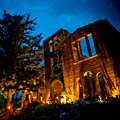 Halloween-ing in Candlelit Ruins