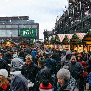 Ice Skating and Mulled Wine-ing in Wrigleyville