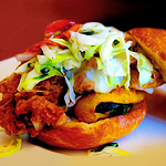 Fried-Chicken Sandwiches at Maverick