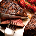 A Feast for Two in a Massive Steakhouse
