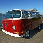 A Vintage VW Van to Take You to Sonoma